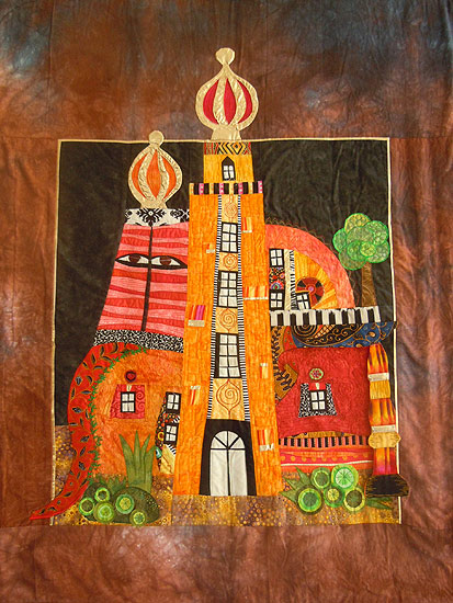 Patchwork quilting gallerie beispiele quilting root - Wandbehang patchwork ...